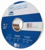Cabo coaxial tipo RG6 - 100m